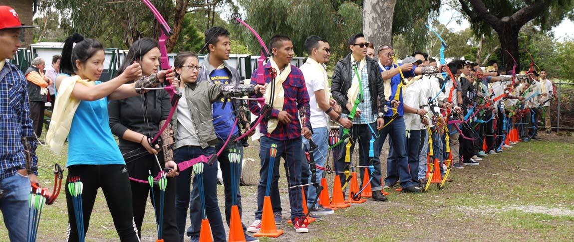 Organise for your social or corporate group to learn archery as an activity